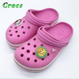 Crocs- Pink Disney Princess Girls C 13